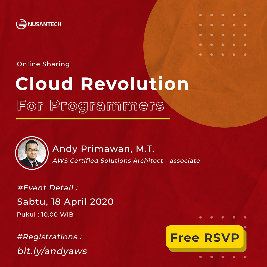 Cloud Revolution for Programmers