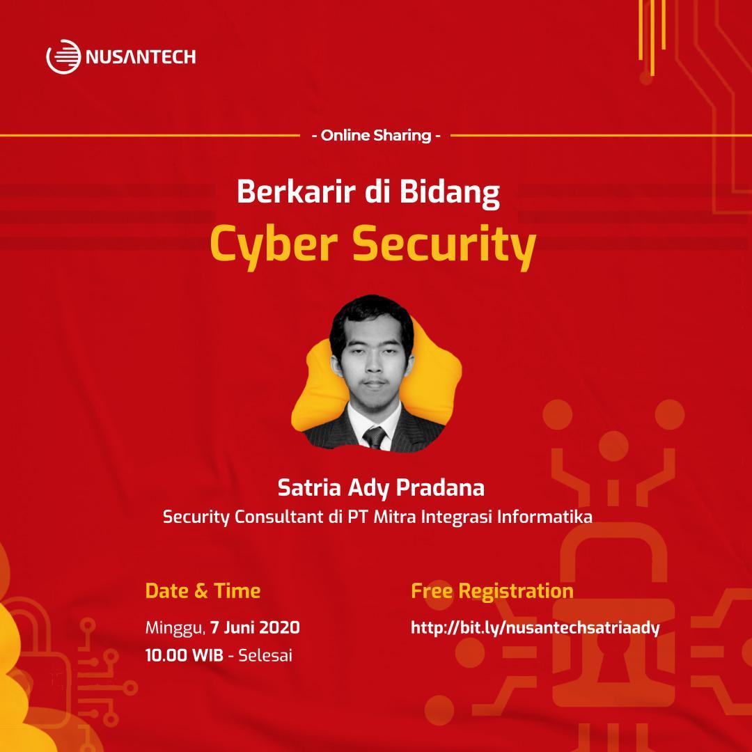 Berkarir di Bidang Cyber Security