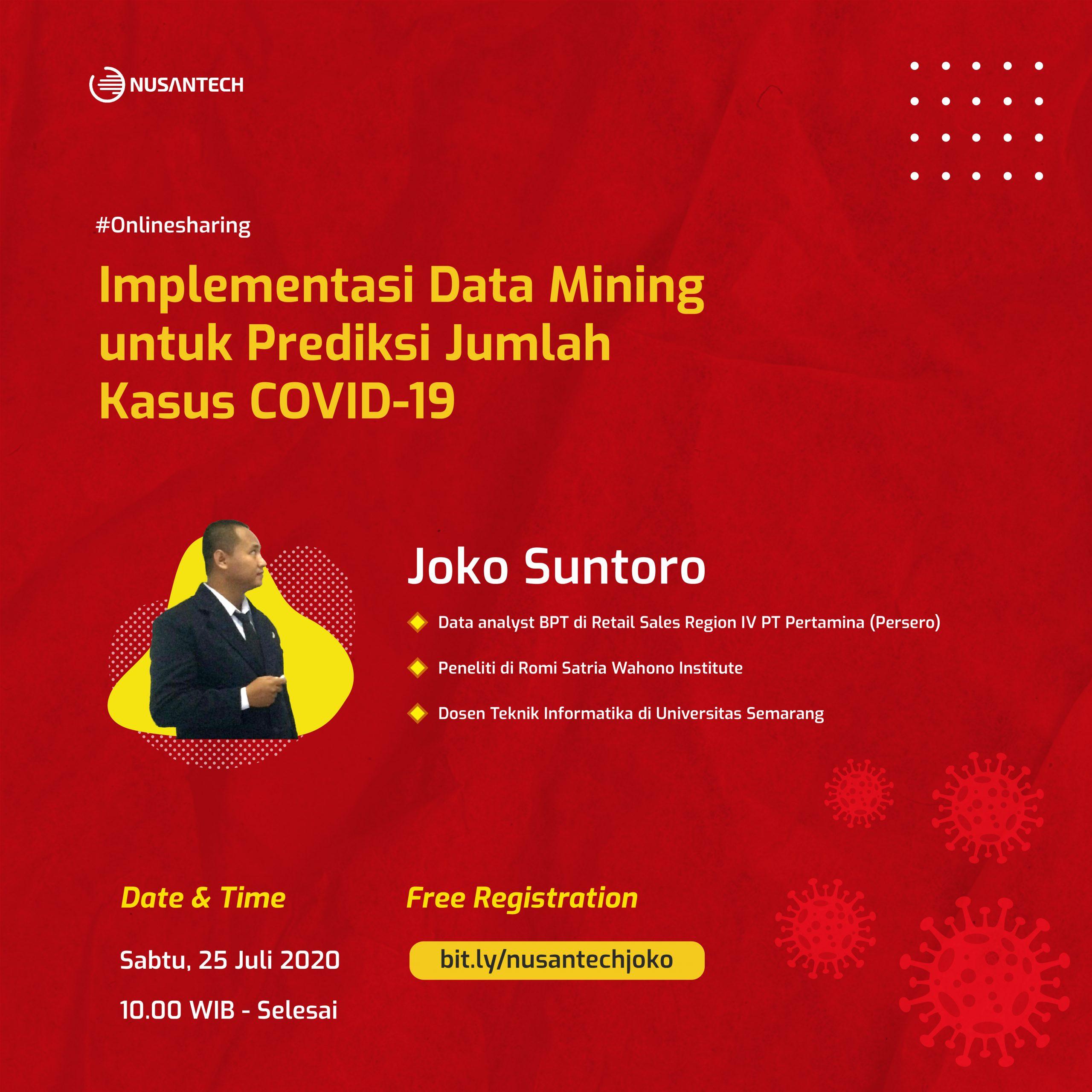 Implementasi Data Mining untuk Prediksi Jumlah Kasus COVID-19