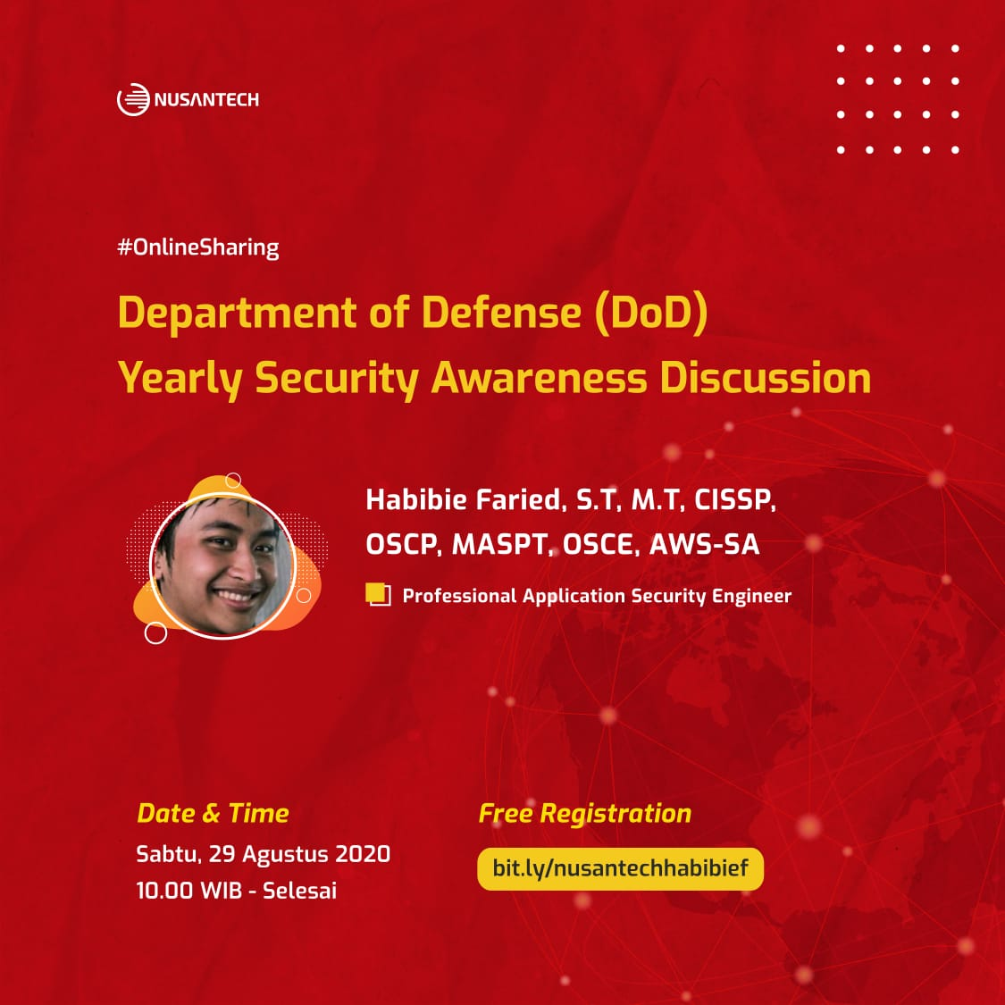 Department of Defense (DoD) Yearly Security Awareness Discussion